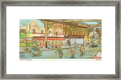 Lewis Of Woodhaven Framed Print