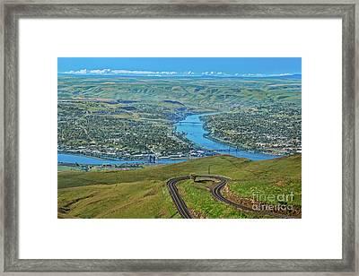 Lewiston Framed Print by Robert Bales