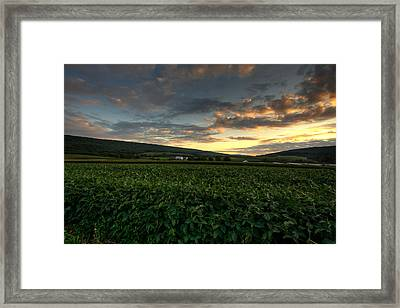 Lewistown Valley Framed Print