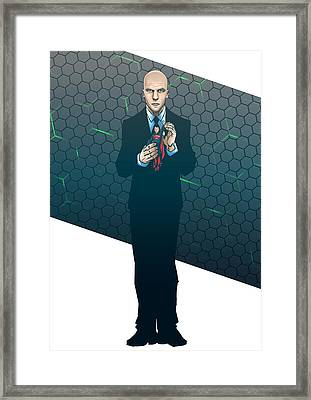 Lex Dawn Of Justice Framed Print by Akyanyme