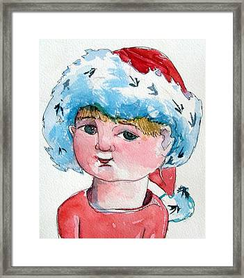 Lexi Framed Print by Mindy Newman
