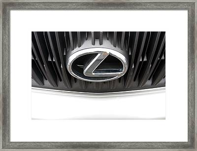 Lexus 15 Framed Print by Jez C Self