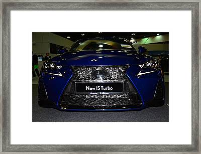 Lexus Is Turbo Framed Print