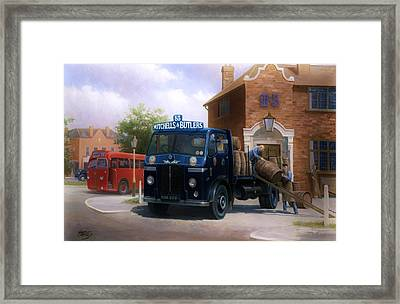 Leyland Dray Mitchell's And Butlers Framed Print
