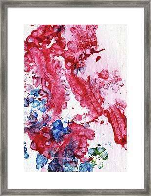 Lian's Garden 2 Framed Print by Antony Galbraith