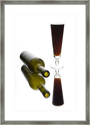Libation 2 Framed Print by Patrick Ziegler