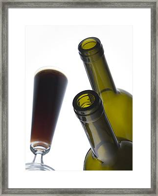 Libation 3 Framed Print by Patrick Ziegler