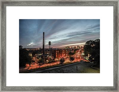 Libby Hill Post Sunset Framed Print