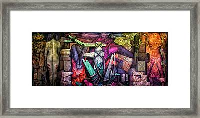 Liberation Framed Print by Jurgen Lorenzen