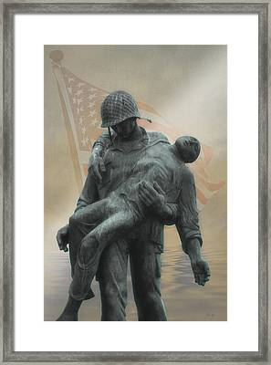 Liberation Monument Framed Print