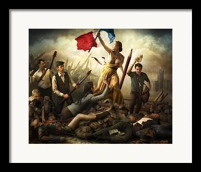 Delacroix Framed Prints