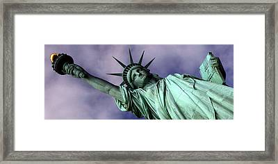 Liberty 2 Framed Print by William  Todd