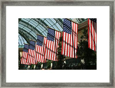 Liberty Framed Print by Amy Holmes