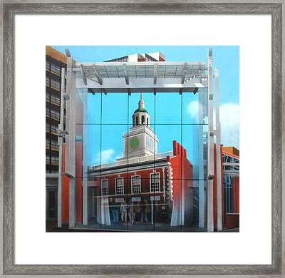 Liberty Bell Pavillion Framed Print by Brett Sauce