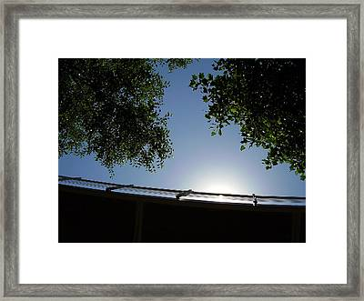 Liberty Bridge Framed Print