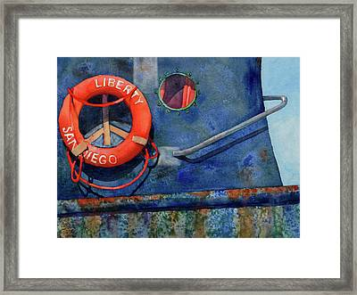 Liberty Framed Print by Codie Carman