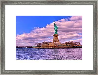 Liberty Framed Print by David Hahn