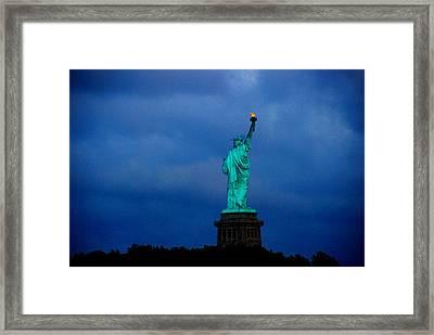 Liberty Framed Print by Fareeha Khawaja