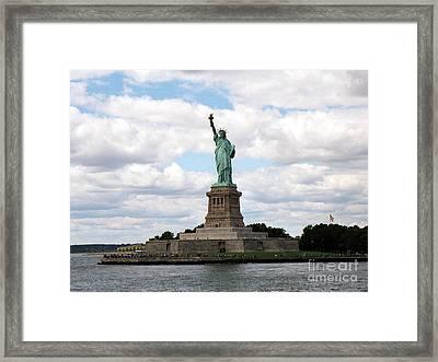 Liberty For All Framed Print by Deborah Selib-Haig DMacq
