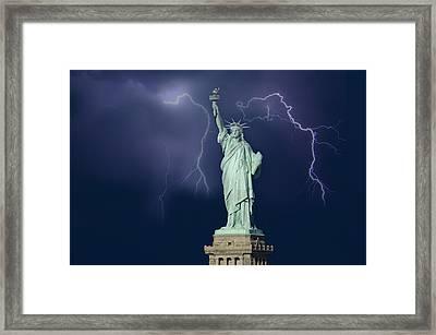Liberty IIi Framed Print by Christian Heeb