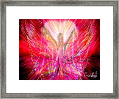 Liberty In My Heart Framed Print