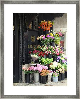 Liberty London Framed Print by Rhianna Wurman