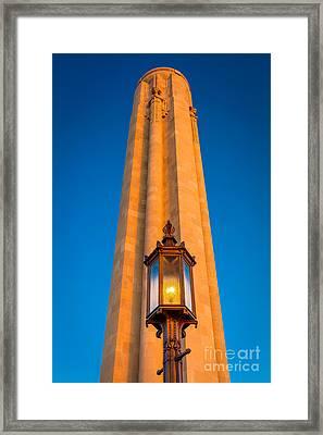 Liberty Memorial Framed Print by Inge Johnsson