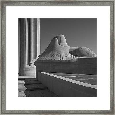 Liberty Memorial Kansas City Missouri Framed Print