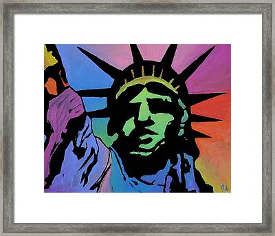 Liberty Of Colors Framed Print