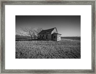 Liberty School House 1893 Framed Print by Chris Harris