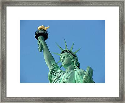 Liberty Stand Tall Framed Print