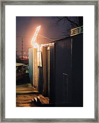 Framed Print featuring the photograph Liberty by Steve Karol