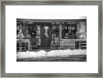 Liberty Tool Co Framed Print