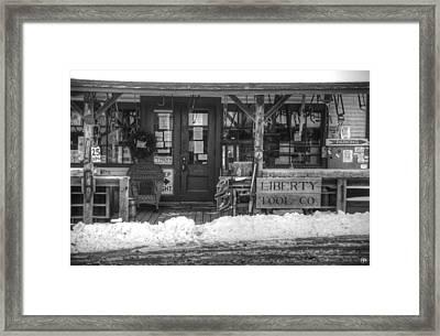 Liberty Tool Co Framed Print