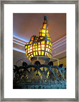 Liberty Torch Framed Print by Randall Weidner
