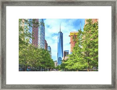 Framed Print featuring the photograph Liberty Tower by Theodore Jones
