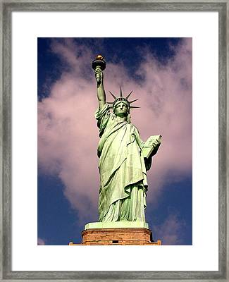Liberty V01 Framed Print