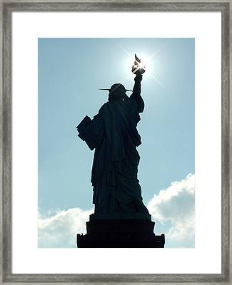 Liberty V02 Framed Print