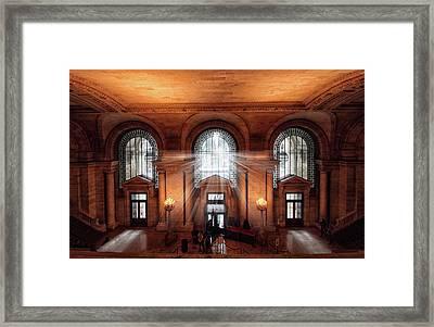 Library Entrance Framed Print by Jessica Jenney