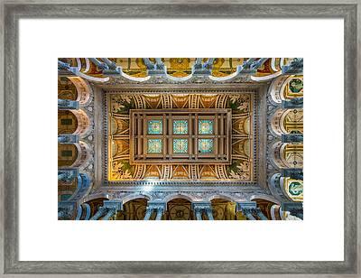 Library Of Congress II Framed Print by Robert Davis