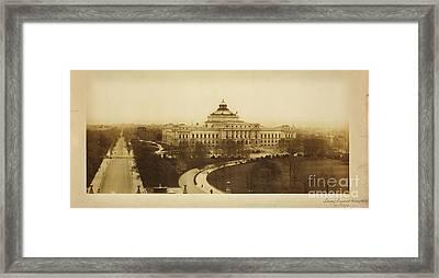 Library Of Congress Library At Washington Framed Print