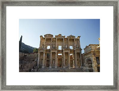 Library Of Ephesus Or Celsus Framed Print