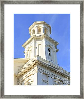 Library Provincetown Cape Cod Framed Print