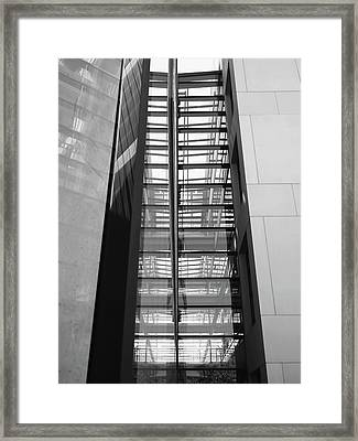 Library Skyway Framed Print by Rona Black