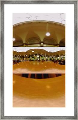 Library Time Framed Print