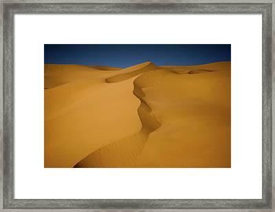 Libya Dunes Framed Print