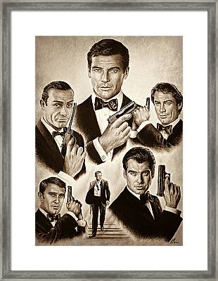 Licence To Kill Smooth Edit Framed Print