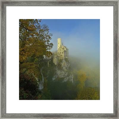 Lichtenstein Castle Framed Print