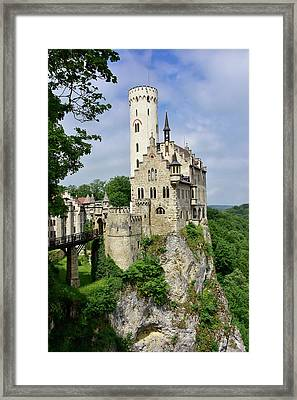 Lichtenstein Castle Framed Print