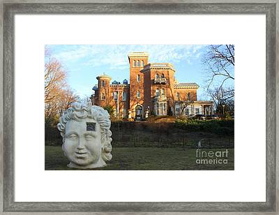 Lichtfield Villa - Brooklyn, New York Framed Print by Dora Sofia Caputo Photographic Art and Design